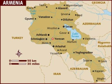 map_of_armenia