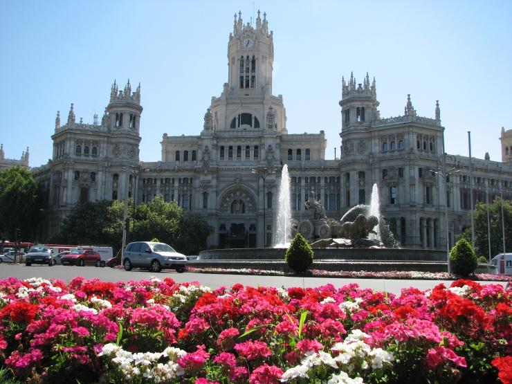 plaza de cibeles and palacio de correos