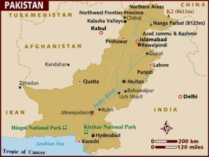 map_of_pakistan
