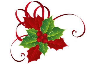 Christmas_Red_Green_Mistletoe_PNG_Picture